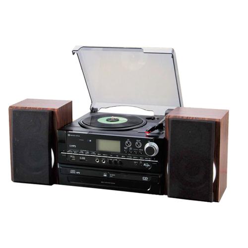 便利雑貨 多機能レコードプレーヤー MRP-V002