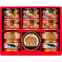 便利雑貨 美味しい水産缶詰詰合せ B3166010