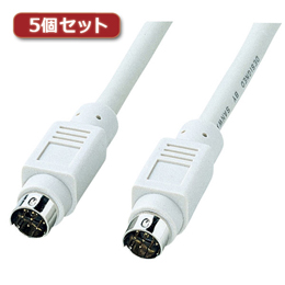 【5個セット】 プリンタケーブル(2m) KPU-MAC2X5オススメ 送料無料 生活 雑貨 通販