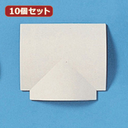 便利雑貨 【10個セット】ケーブルカバー(T型、アイボリー) CA-R70TX10
