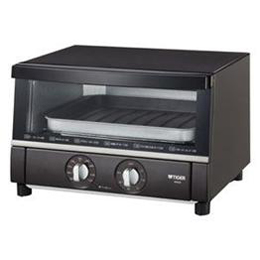 便利雑貨 オーブントースター 「やきたて」 ブラウン KAS-B130-T
