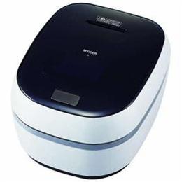 お役立ちグッズ JPG-X100-WF 土鍋圧力IHジャー炊飯器 「GRAND X THE炊きたて」 5.5合炊き フロストホワイト