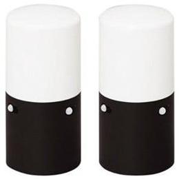 お役立ちグッズ ガーデンセンサーライトスリム ブラック LSL-MS2ブラック