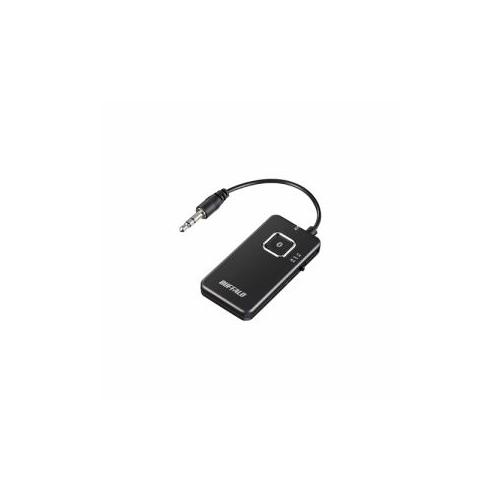 日用品 便利 ユニーク BUFFALO バッファロー BSHSBTR500BK Bluetoothオーディオトランスミッター レシーバー 低遅延対応モデル ブラック BSHSBTR500BK