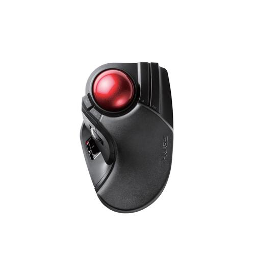 日用品 便利 ユニーク エレコム ワイヤレストラックボール(人差し指・中指操作タイプ) M-HT1DRBK