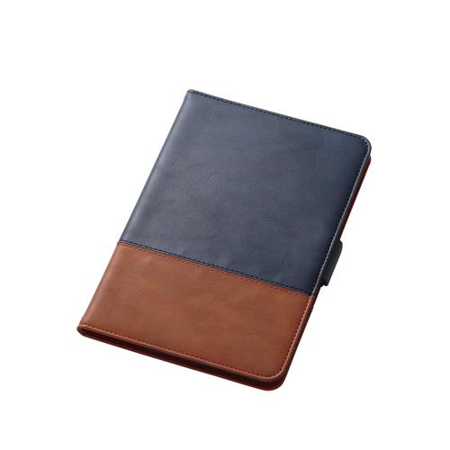 生活関連グッズ エレコム iPad mini 4/フラップカバー/ソフトレザー/フリーアングル/ツートン/ブルー×ブラウン TB-A17SPLFDTBU タブレットカバー・ケース タブレットPCアクセサリー 関連iPadケース iPad スマートフォン・タブレット・携帯電話