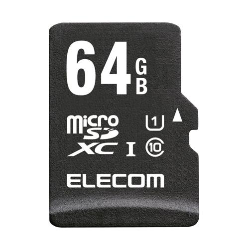 生活関連グッズ microSDXCカード/高耐久/UHS-I U1/Class10/64GB MF-ACMR064GU11A