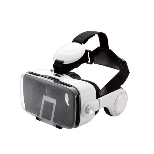 生活関連グッズ VRグラス(ヘッドホン一体型タイプ) P-VRGEH01WH