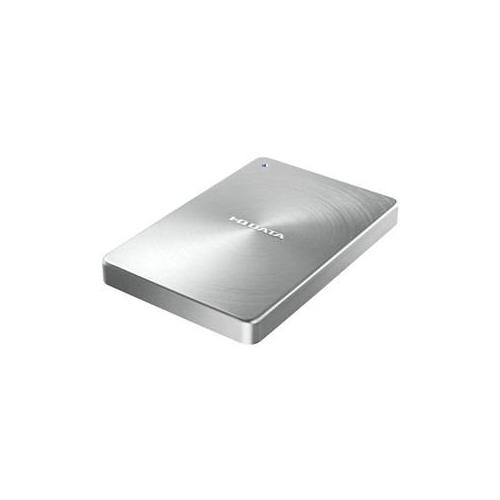 便利雑貨 USB 3.0/2.0対応 ポータブルハードディスク「カクうす」 1.0TB シルバー HDPX-UTA1.0S
