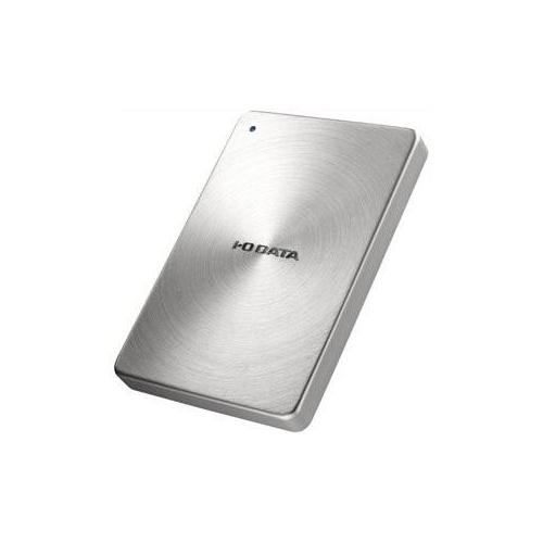 生活関連グッズ USB 3.0/2.0対応 ポータブルハードディスク「カクうす」 2.0TB シルバー HDPX-UTA2.0S