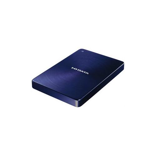 便利雑貨 USB 3.0/2.0対応 ポータブルハードディスク カクうす 1.0TB ブルー HDPX-UTA1.0B