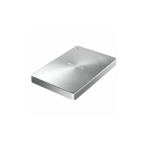 生活関連グッズ USB 3.1 Gen1 Type-C対応 ポータブルハードディスク「カクうす」1.0TB シルバー HDPX-UTC1S