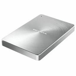 便利雑貨 USB 3.1 Gen1 Type-C対応 ポータブルハードディスク「カクうす」2.0TB シルバー HDPX-UTC2S