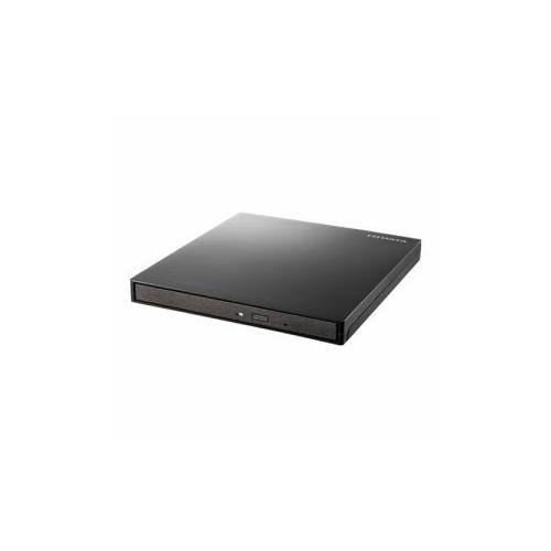 生活関連グッズ DVRP-UT8TBK Windowsタブレット向けポータブルDVDドライブ