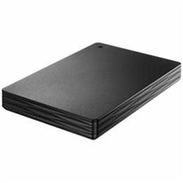 お役立ちグッズ HDPH-UT500K USB 3.0/2.0対応ポータブルハードディスク「カクうす Lite」 500GB ブラック