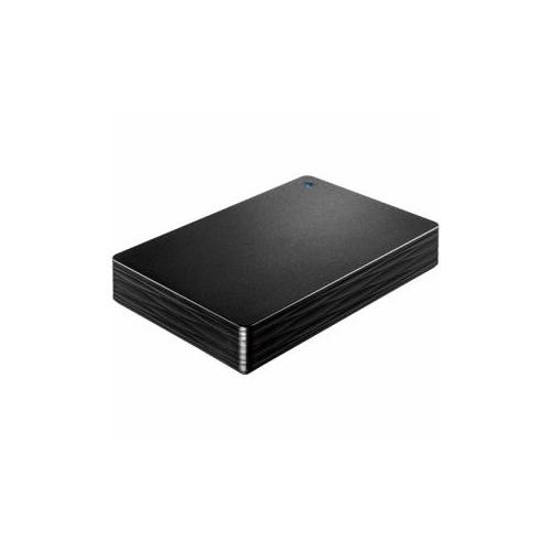 生活関連グッズ USB 3.0/2.0対応ポータブルハードディスク「カクうす 波(なみ)」 ブラック 3TB HDPH-UT3DK