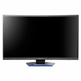 お役立ちグッズ フルHD対応 27型湾曲パネル採用ゲーミング液晶ディスプレイ LCD-GC271XCVB