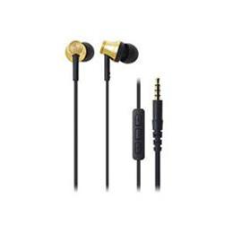 流行 生活 雑貨 iPod/iPhone/iPad専用インナーイヤーヘッドホン ゴールド ATH-CK330i-GD