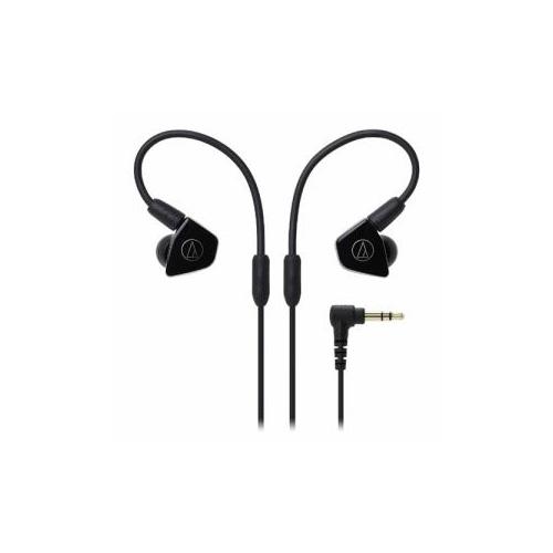 日用品 便利 ユニーク Audio-Technica オーディオテクニカ ATH-LS50-BK インナーイヤーヘッドホン(ブラック)
