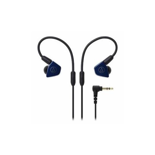 日用品 便利 ユニーク Audio-Technica オーディオテクニカ ATH-LS50-NV インナーイヤーヘッドホン(ネイビー)