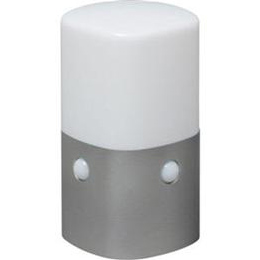 便利雑貨 屋外センサーライト スタンドタイプ 角型 (電球色) OSL-ML2K-WS