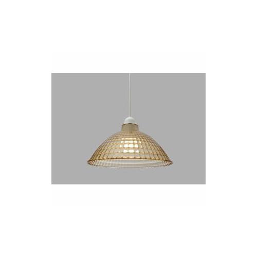 生活関連グッズ LEDペンダントライト LED電球セット Lapin ガラス調 Mサイズ アンバー PL8L-E26CG1