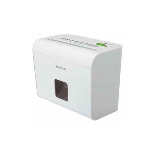 生活関連グッズ アイリスオーヤマ マイクロカットシュレッダー A5サイズ ホワイト HS4SC 電動シュレッダー オフィス機器 関連シュレッダー 生活家電 家電