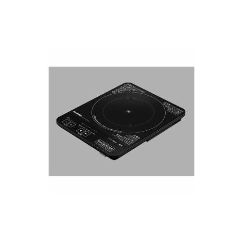 生活関連グッズ 薄型IHクッキングヒーター ブラック IHO-T41