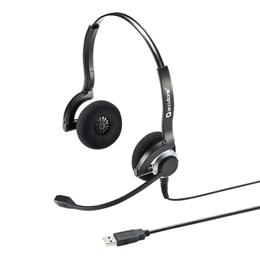 便利雑貨 USBヘッドセット MM-HSU08BK