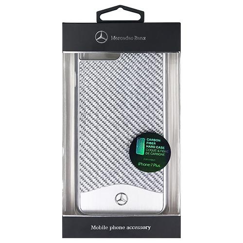 生活関連グッズ MERCEDES WAVE V Glass Fiber + Brushed Aluminium Hard Case - Silver MEHCP7LCACSI