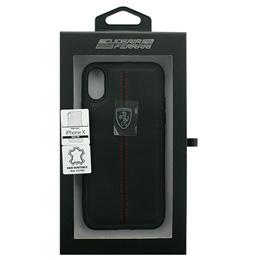 開店記念セール! Ferrari iPhoneX専用 本革ハードケース HERITAGE - Hard Case W vertical contrasted stripe - Black IPHONE X FEHDEHCPXBKオススメ 送料無料 生活 雑貨 通販, インセントオンラインショップ a6c1911c