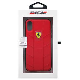 便利雑貨 Ferrari 公式ライセンス品 iPhoneX専用 ナイロンハードケース FERRARI SF HYBRID CASE IPHONE X RACING TYRES DAPHNE RED FESCODHCPXRE