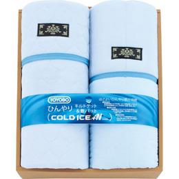 便利雑貨 ひんやり敷きパット&キルトケット(コールドアイス +N生地使用) L2191127