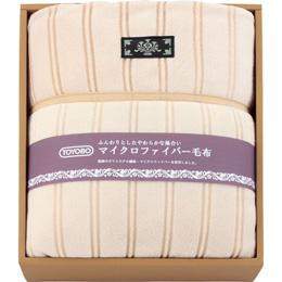 便利雑貨 マイクロファイバーわた入り毛布 L2192025
