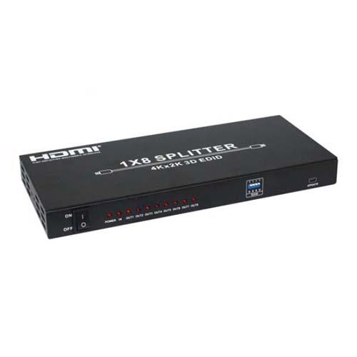 生活関連グッズ 4K対応 HDMIスプリッター 8分配 THDSP18-4K