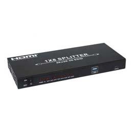 電化製品関連 テック 4K対応 HDMIスプリッター 8分配 THDSP18-4K