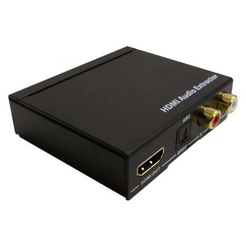 生活関連グッズ 4K対応HDMIオーディオD/Aコンバーター THDTOA-4K