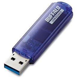 お役立ちグッズ USBメモリ USB3.0対応「ライトプロテクト機能」搭載モデル RUF3-C64GA-BL RUF3-C64GABL
