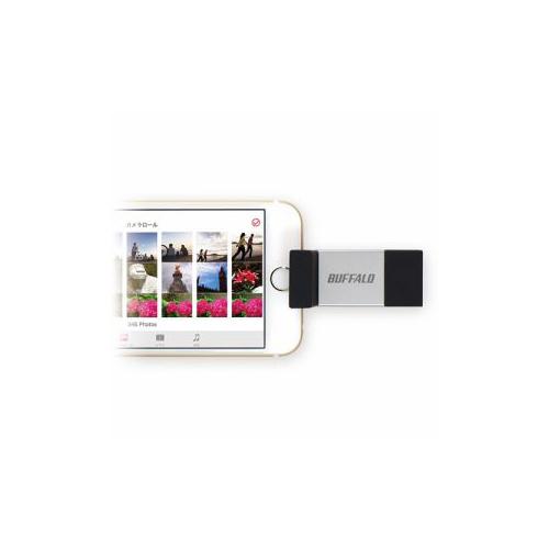 便利雑貨 Lightning×USB3.0対応 USBメモリー 16GB RUF3-AL016G-SV RU-F3AL016GSV