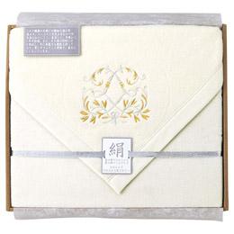 便利雑貨 シルクコットンリバーシブル毛布(毛羽部分)