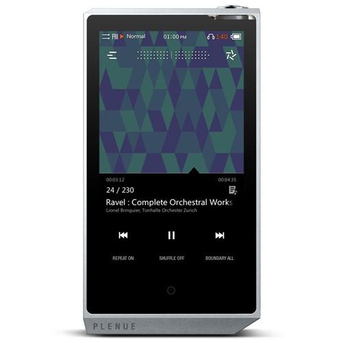 お役立ちグッズ Bluetooth搭載ハイレゾ対応高品質プレーヤー PLENUE R 128GB シルバー PR-128G-SL