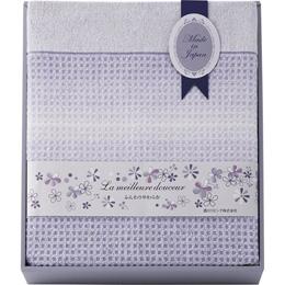 便利雑貨 日本製ワッフル織りタオルケット B3156014