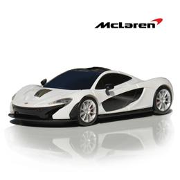 便利雑貨 カーマウス マクラーレンP1 ホワイト 無線マウス McLaren-P1-WH