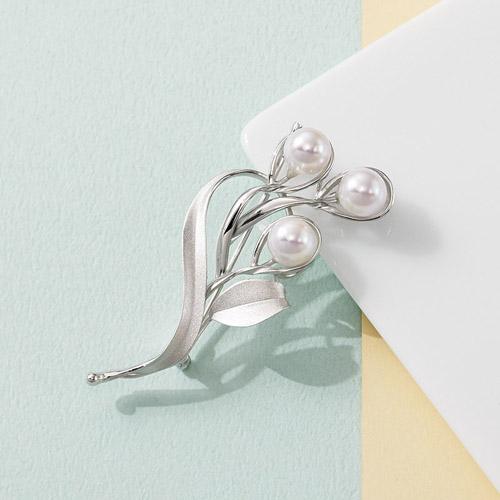 アコヤ真珠ブローチお得 な全国一律 送料無料 日用品 便利 ユニーク