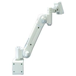 便利雑貨 スタンダードアーム クランプ固定 低荷重 アイボリー ARM2-20C