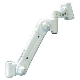 便利雑貨 スタンダードアーム グロメット固定 低荷重 アイボリー ARM2-20G