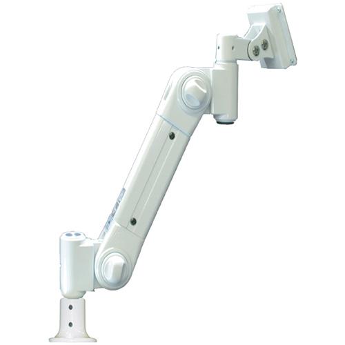日用品 便利 ユニーク ライブクリエータ スタンダードアーム フランジ付グロメット固定 低荷重 アイボリー ARM2-20G2