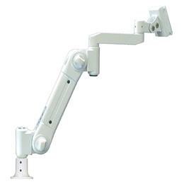 流行 生活 雑貨 スイング式スタンダードアーム フランジ付グロメット固定 中荷重 アイボリー ARM2-11AG2