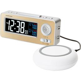 便利雑貨 振動式目覚まし電波時計 C8059097