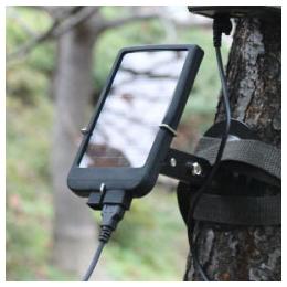 便利雑貨 自動録画監視カメラ「MPSC-12」用ソーラーチャージャー LT5210C4